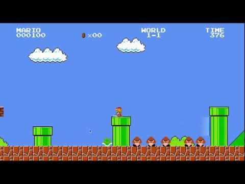 Mario + Portal