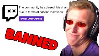 Tfue Got Me BANNED On Twitch