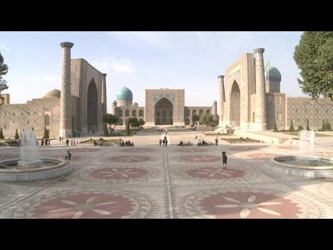 Uzbekistan's second largest city Samarkand - a Silk Road tre
