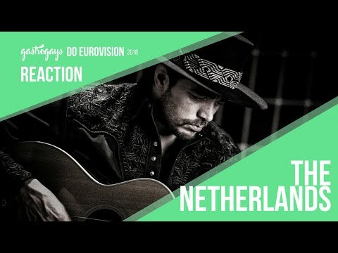 Eurovision Netherlands 2018 | Waylon – 'Outlaw In 'Em' Reaction | GastroGays do Eurovision 2018 #30