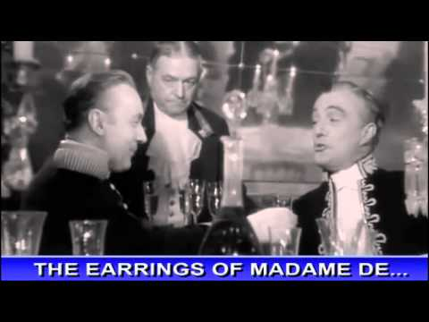 Cole Smithey's Classic Cinema: The Earrings Of Madame De...