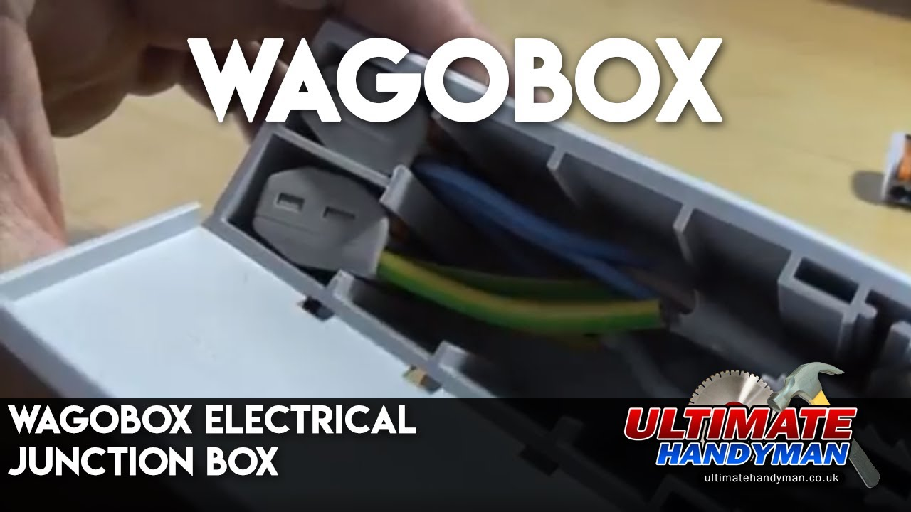 wagobox electrical junction box ultimate handyman diy. Black Bedroom Furniture Sets. Home Design Ideas