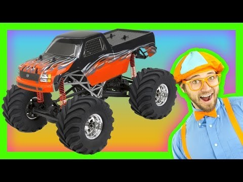 Monster Trucks for Kids - Learn Numbers and Colors