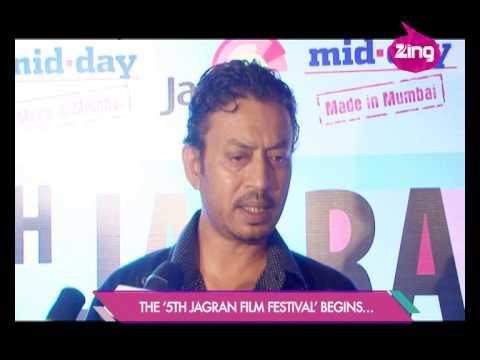 Cinema Lovers Irrfan Khan and Neetu Chandra