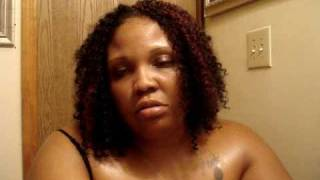 protective style crochet hair using freetress water wave