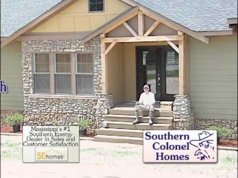 Whlt southern colonel homes country style youtube for Colonel homes