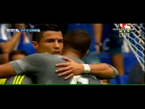 Ronlado record,crstiano ronaldo,ronaldo 5 goal,real madrid,football