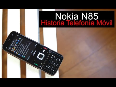 Nokia N85. anunciado en 2008   Historia Telefonía Móvil
