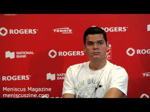 Milos Raonic Press Conference - Rogers Cup (Toronto), Aug. 4, 2014 - Meniscus Magazine