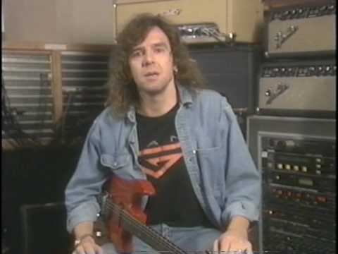 DANN HUFF- Instructional dvd-Studio work - Guitar technique /PART 1/