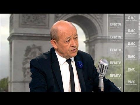Jean-Yves Le Drian annonce la mort d'un légionnaire français au Mali - 08/05