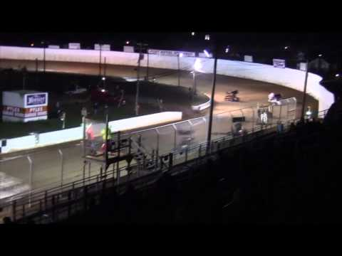 Port Royal Speedway 305 and 410 Sprint Car Highlights 10-11-14