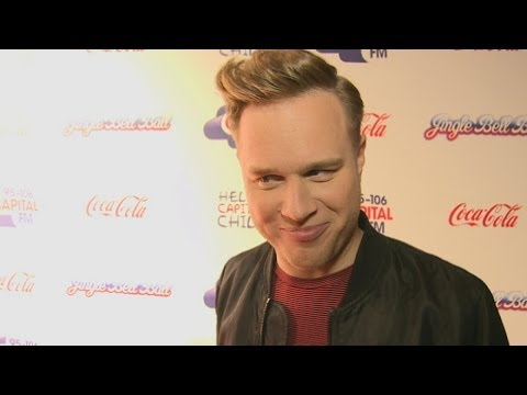 Olly Murs talks about breaking hearts now he has a girlfriend at the Jingle Bell Ball