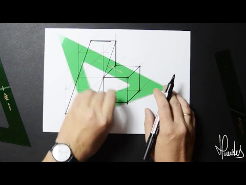 Aplicación de cubos en perspectiva caballera