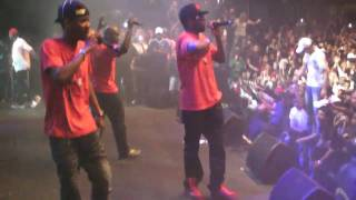 Bagarres lors du concert de rap du groupe Sexion d