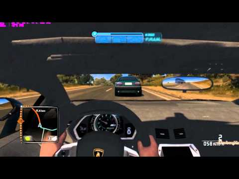 Test Drive Unlimited 2 l Lamborghini Aventador LP700 Interior Ride
