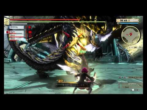 DLC God Eater 2 Rage Burst Orochi Fight