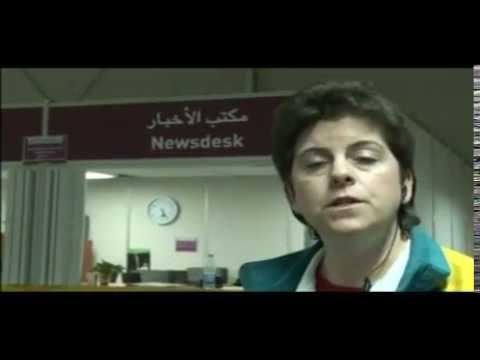 Rushmans Media Centre at Asian Games 2006 Doha