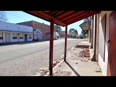 Exploring Forgotten Towns in Northern Texas - Cross Country Road Trip Day Six / 9 States In 9 Days