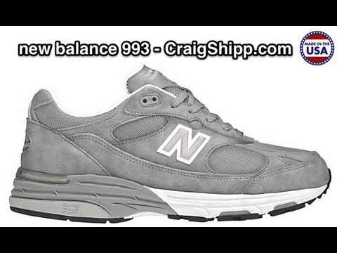 New Balance 993 - Made In The USA - Review