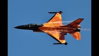 RC Jet Legend F-16 1/6 scale maiden flight by dji Mavic Pro