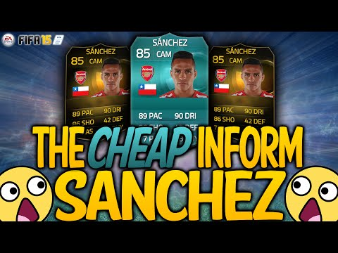 FIFA 15   The Cheap Inform Sánchez! IF Chilean Class! FIFA 15 Ultimate Team