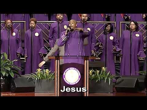 """Praise Him"" (Jesus Blessed Savior) Anthony Brown W/ Fellowship Chorale"