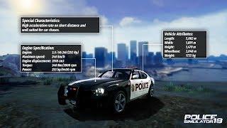 Police Simulator 18 Police Cars