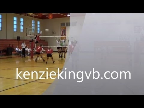 Mackenzie King outside hitter Judge Memorial Catholic High School - 03/13/2014