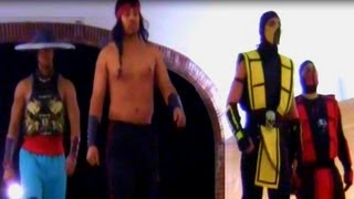 Mortal Kombat Crashes College Convention And Owns Security
