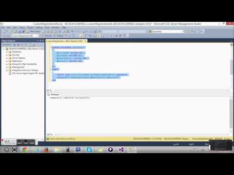 Creating a simple registration form using C#