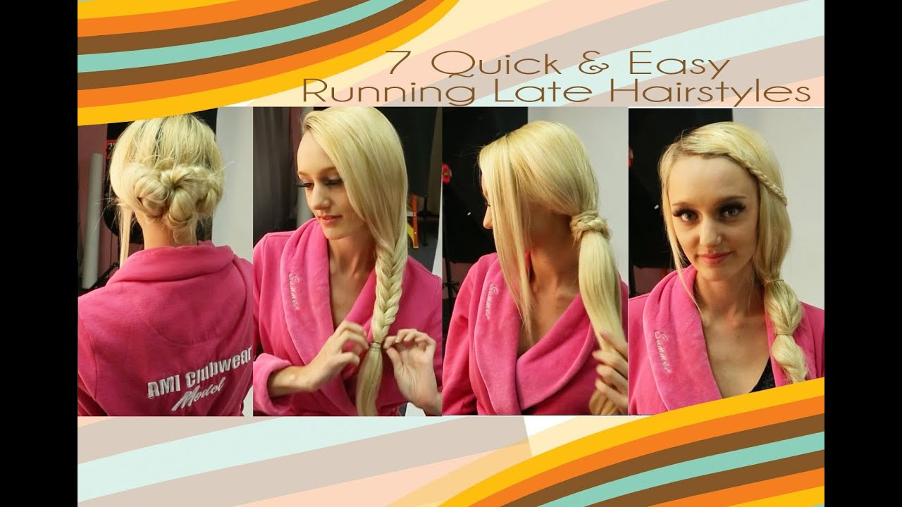 7 Quick & Easy 5-Minute Hairstyles