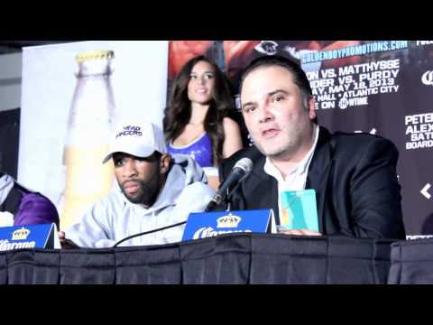Lucas Matthysse vs Lmaont peterson Post FIght - EsNews Boxing Image 1