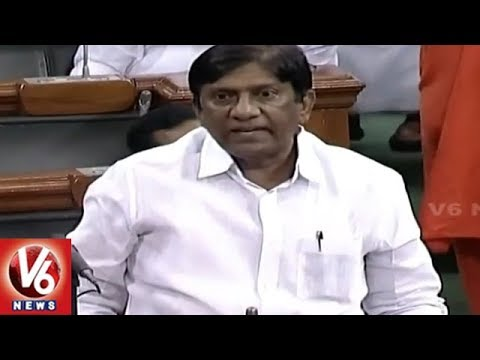 MP Vinod Urges Central Govt For Establishment Of IIIT In Karimnagar | Lok Sabha | V6 News