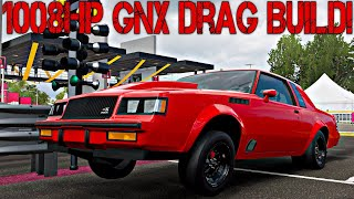 FORZA HORIZON 4 // 1008HP BUICK GNX! DRAG BUILD (BUILD + TUNE) W/ COMMENTARY