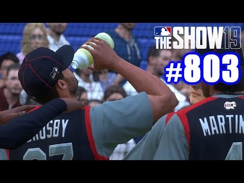 BEST HOME RUN DERBY START EVER! | MLB The Show 19 | Road to the Show #803