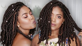 Crochet Faux Locs Tutorial | Goddess Locs