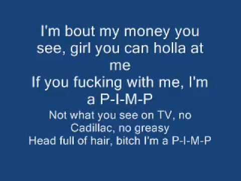 50 cent P.I.M.P lyrics