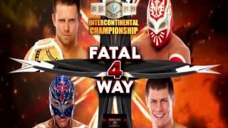 WWE Night Of Champions 2012 Full Match Card