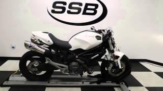 2011 Ducati Monster 696 White - used motorcycle for sale - Eden Prairie