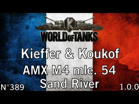 World of Tanks - 1.0.0 - AMX M4 mle. 54 - Sand River - HD