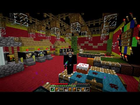 Minecraft Mod - LUCKY BLOCK MOD - NEW BLUE LUCKY BLOCK(Halloween)