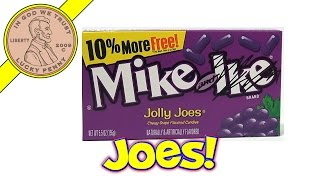 Mike & Ike Jolly Joes Grape Flavored Candies - USA Candy Tasting