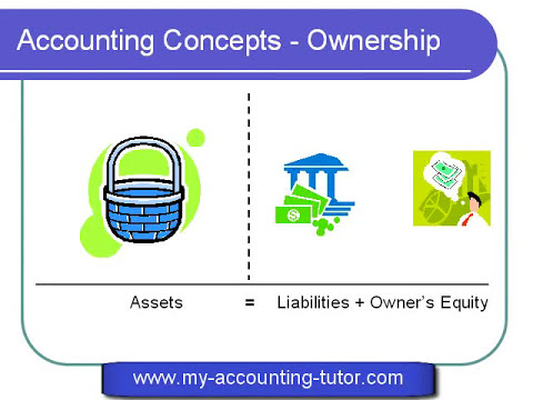 Accounting Lecture 01 - Basic Concepts
