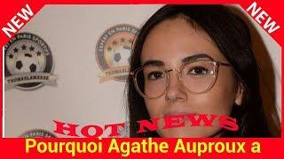 Pourquoi Agathe Auproux a quitté en larmes le plateau de TPMP