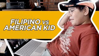 Filipino Vs American Kid