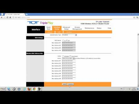 TP-LINK ADSL Modem Router รุ่น TD854W การเปลี่ยนชื่อ Wireless