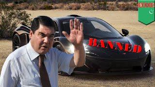 Mobil berwarna hitam dilarang di Turkmenistan karena tidak membawa keberuntungan - TomoNews