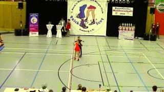 Amelie Seebacher & Patrick Liepert - Landesmeisterschaft Bayern 2015