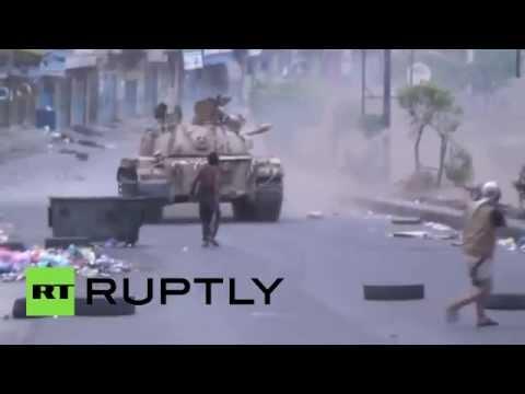 Taiz Battle: Heavy fighting erupts in Yemen streets